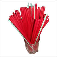 Plastic Jumbo Straw