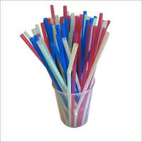 Colored Plastic Straw
