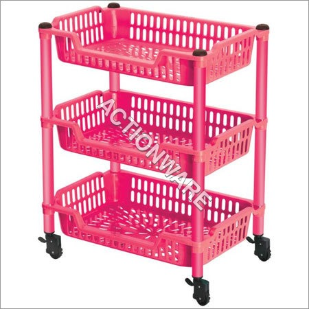 Action Trolley 3 Racks