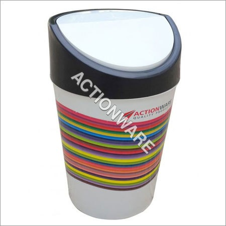 5 Ltr Garbage Swing (Printed Dustbin)