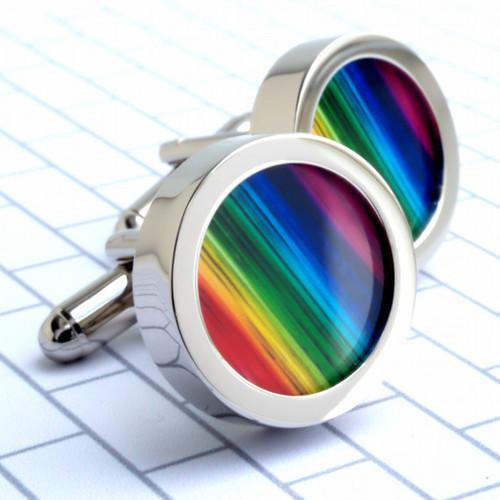 Colourful Cufflink