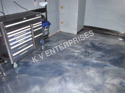 Metallic Expression Floor Coating