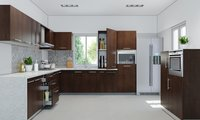 U-SHAPE MODULAR KITCHEN
