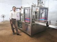 24 bpm mineral water bottle filling machine