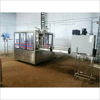 24 bpm rinsing filling capping machine