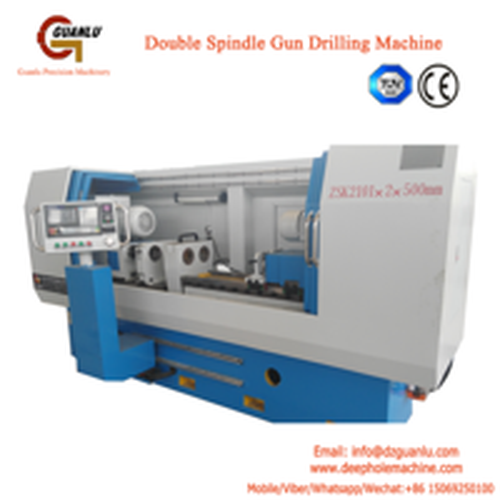 Oil pump injectors  gun drilling machine
