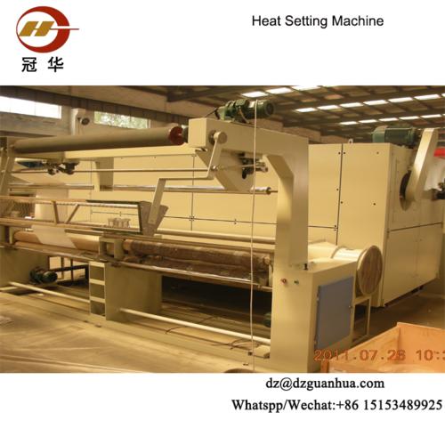 Chemical Fiber Fabrics Heat Setting Textile Finishing Machine