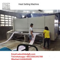 Chemical Fiber Fabrics Heat Setting Textile Finishing Machine