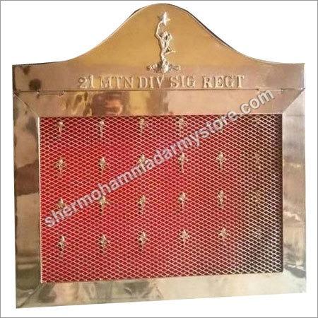 Brass Key Box