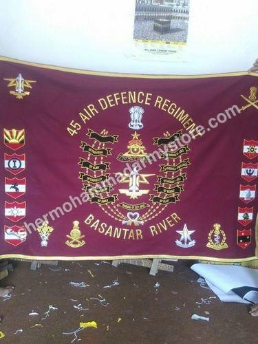 Military Zari Banner