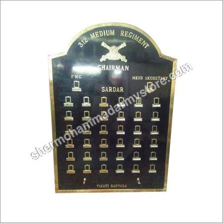 Military Brass Board