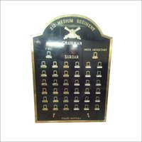 Military Brass Board
