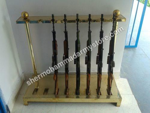 brass Gun Stand