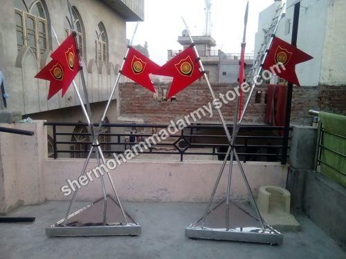 Steel lancer flag
