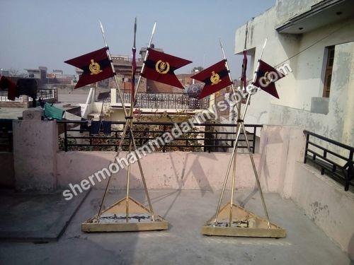 Brass Lancer Flag Set