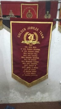 Amry Embroidery Banner
