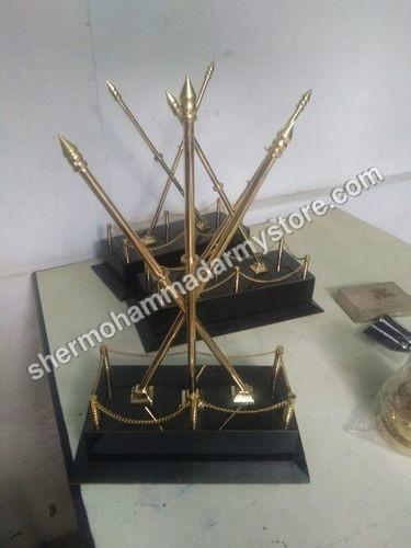 Brass Cross Stand