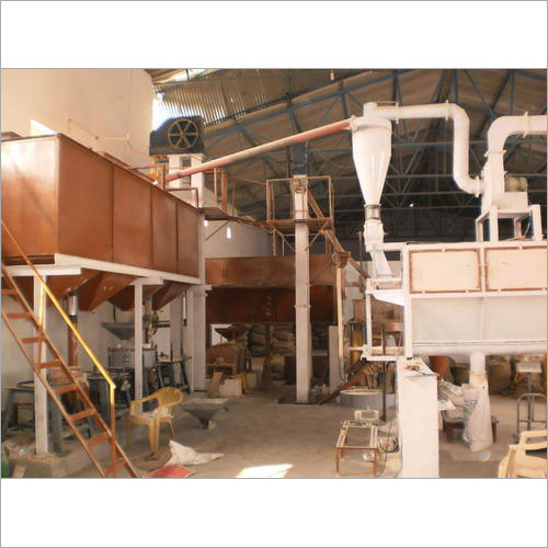 Automatic Wheat Flour Mill