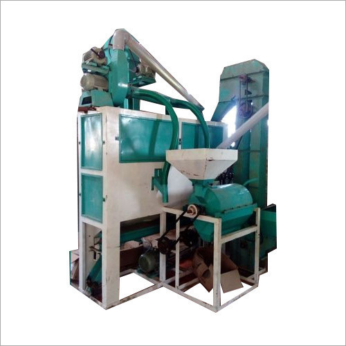 Single Roller Dal Mill Machine