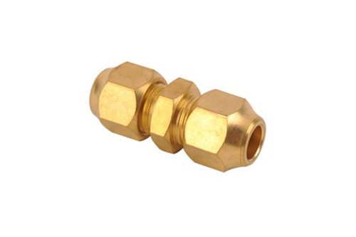 Brass Flare Fitting with Nut