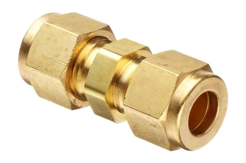 Brass Connectors with Nut