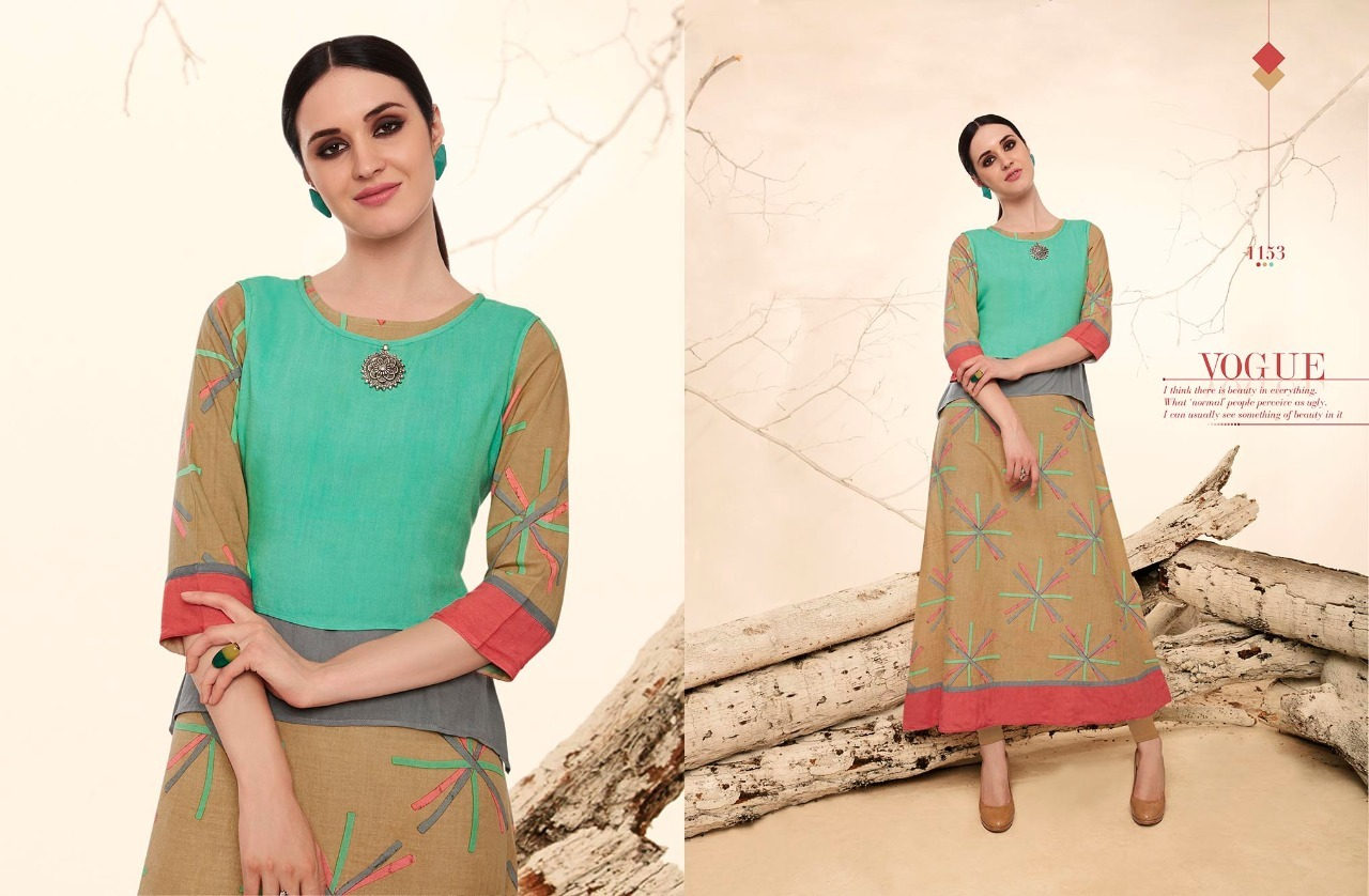 Designer fancy cotton kurti online