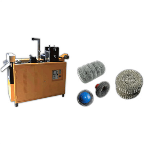 Scourer Scrubber Making Machines
