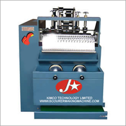 Pot Scourer Scrubber Making Machine