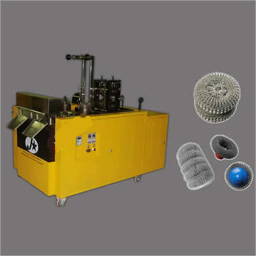 Wire Mesh Scourer Knitting Machine