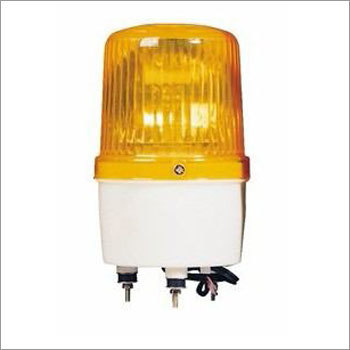 Yellow Alarm Light
