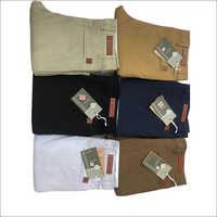 Men's Cotton Plain Trouser