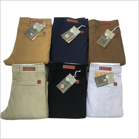 Men's Casual Plain Pant