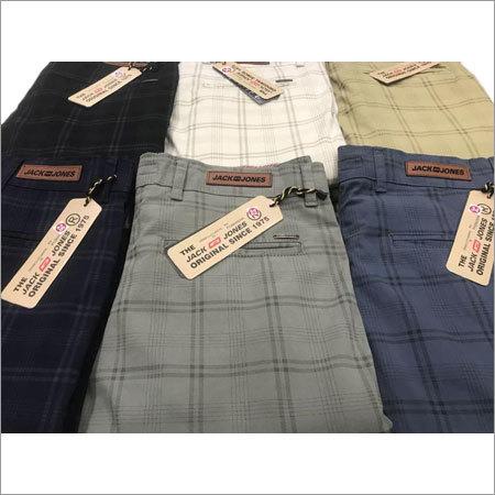 Men's Check Pant