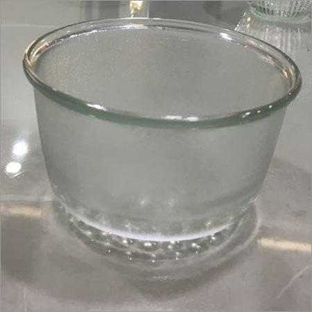 Plain Glass Bowl