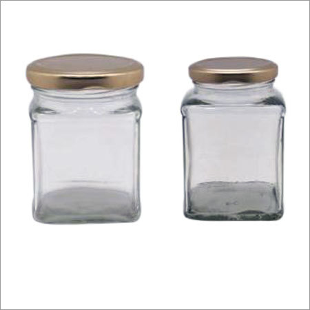 Glass Square Jars