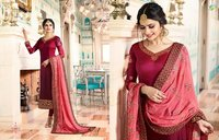 Party wear designer anarkali salwar kameez