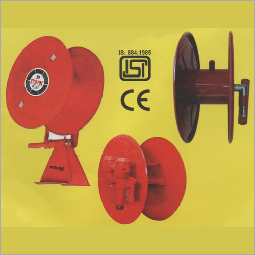 Fire Safety Helmet And Hose Reel Drum