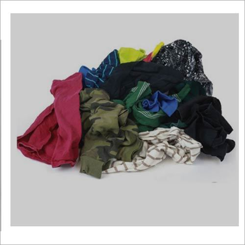 Mixed Color T-Shirt Rags