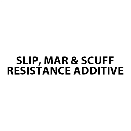 Slip, Mar & Scuff Resistance Additive