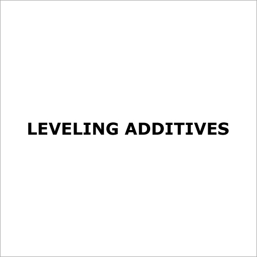 Leveling Additives