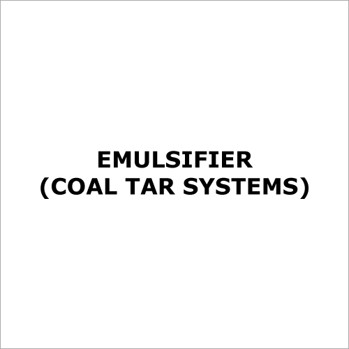 Emulsifier (Coal Tar Systems)