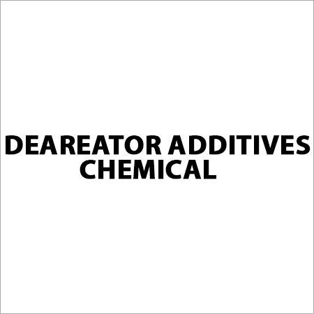 Deareator Additives Chemical