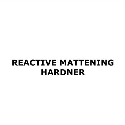Reactive Mattening Hardner