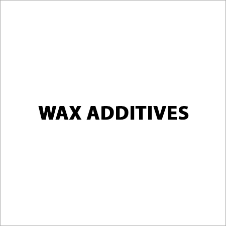 Wax Additives