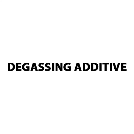 Degassing Additive