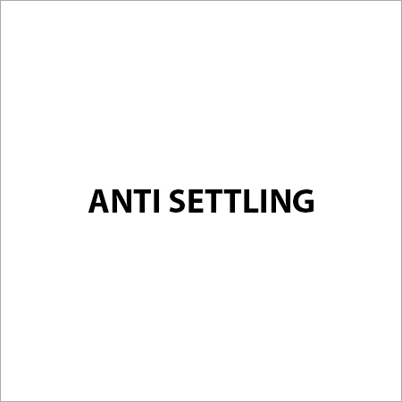Anti Settling