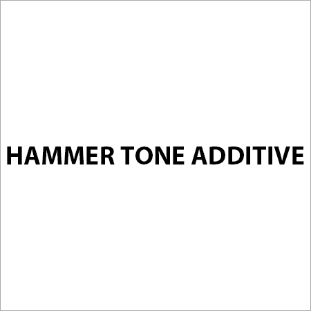 Hammer Tone Additive