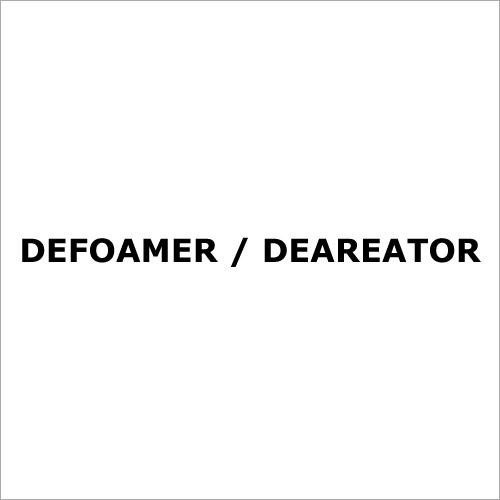 Defoamer / Deareator