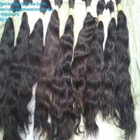 Single Drawn Hair, Human Hair Wefts