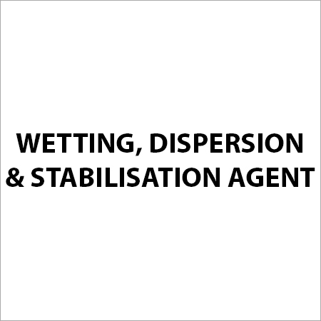 Wetting, Dispersion & Stabilisation Agent